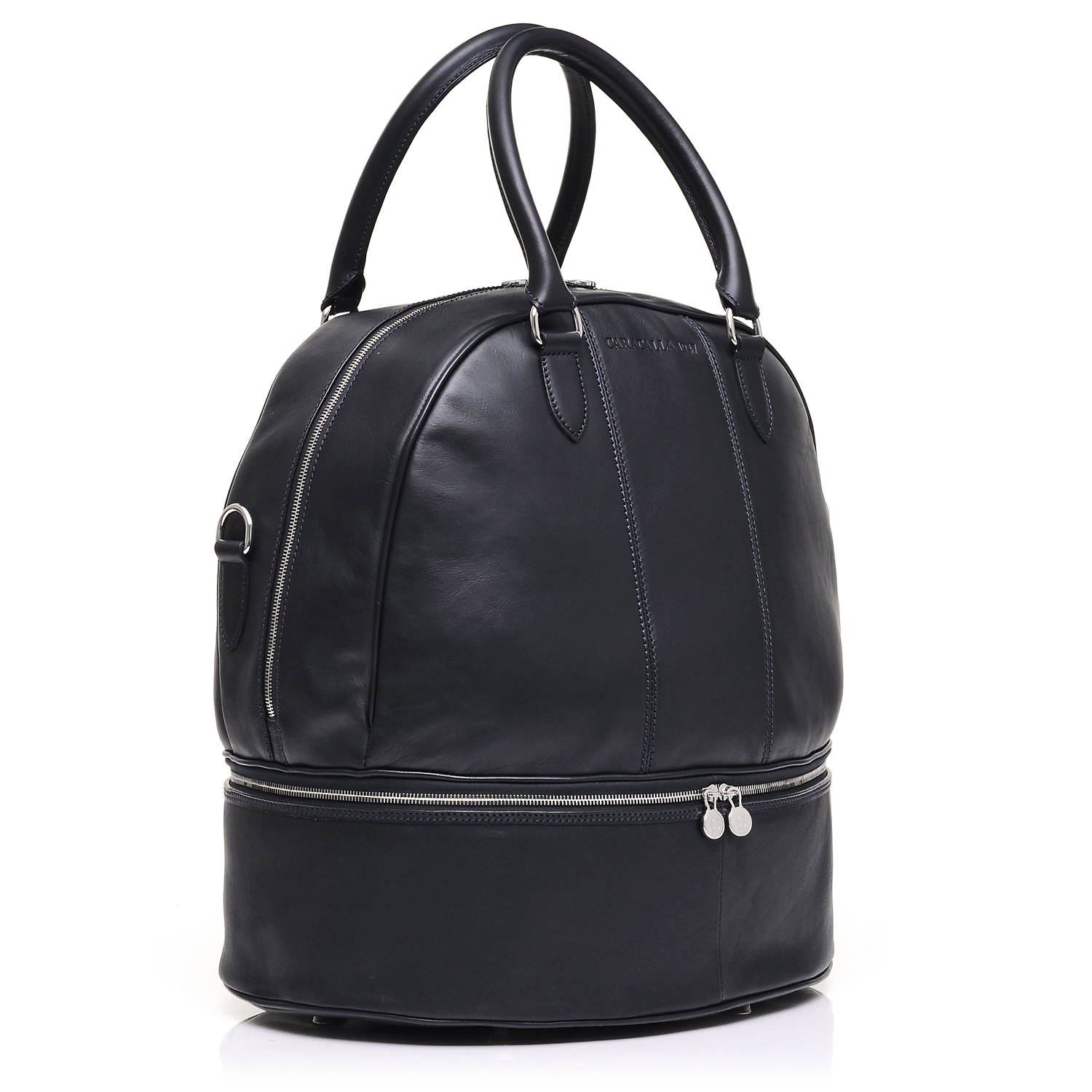 leather helmet bag for the racing driver